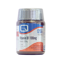 Quest Vitamin B1 - Thiamin - 120 x 100mg Tablets