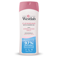 Westlab Himalayan Salt Cleansing Shower Wash - 400ml