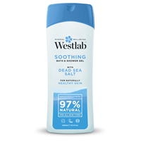 Westlab Dead Sea Salt Soothing Shower Wash - 400ml