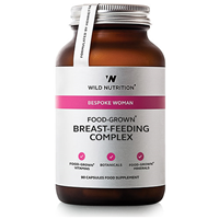 Wild Nutrition Food-Grown Breast-Feeding Complex - 90 Capsules