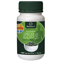 Lifestream Bioactive Spirulina - 100 x 400mg Capsules - Best before date is 30th April 2018