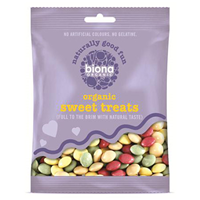 Biona Organic Sweet Treats - Carnival Chocolate Drops - 60g