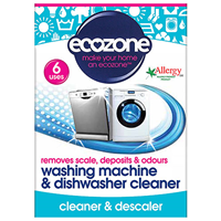 Ecozone Washing Machine & Dishwasher Cleaner - 6 Uses
