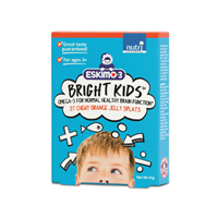 Eskimo-3 Bright Kids - 27 Chewable Orange Jelly Splats
