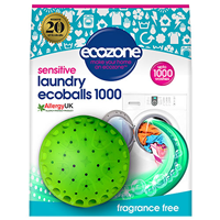 Ecozone Sensitive Laundry Ecoballs 1000 - Single Pack