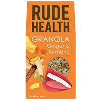 Rude Health Ginger & Turmeric Granola - 450g - Best before date is 31st January 2019