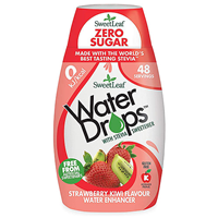 SweetLeaf Water Drops Strawberry & Kiwi - 48ml