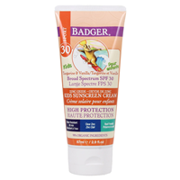 Badger Kids Sunscreen SPF 30 - Tangerine & Vanilla - 87ml