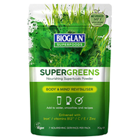 Bioglan Superfoods Supergreens - 100g