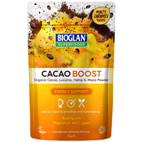 Bioglan Superfoods Organic Cacao Boost - 100g - Best before date is 30th September 2019