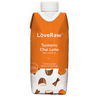 LoveRaw Almond Drink - Turmeric Chai Latte - 330ml