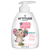 ATTITUDE Little Ones Sensitive Body Lotion - Fragrance Free - 300ml