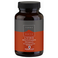 TERRANOVA Living Multivitamin WOMAN - 100 Vegicaps