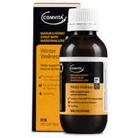 Comvita Manuka Honey Syrup with Marshmallow - 100ml