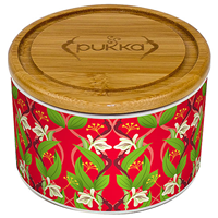 Pukka Revitalise Ceramic Tea Caddy
