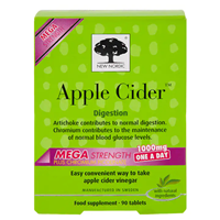 New Nordic Apple Cider Mega Strength - 90 x 1000mg Tablets