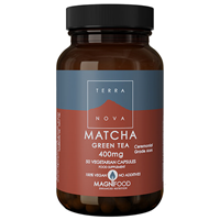 TERRANOVA Matcha Green Tea - 500mg - 50 Vegicaps