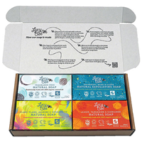 Lucy Bee Organic Natural Soap Collection - 4 x 150g