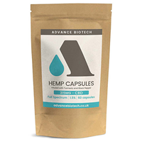 Advance Biotech Hemp CBD 1.5% Infused with Turmeric & Black Pepper - 60 Capsules