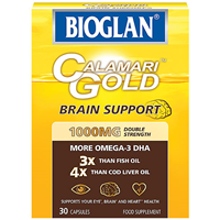 Bioglan Calamari Gold - 30 x 1000mg Capsules - Best before date is 31st May 2021