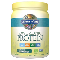 Garden of Life Raw Organic Protein - Unflavoured - 426g - Best before date is 29th February 2020