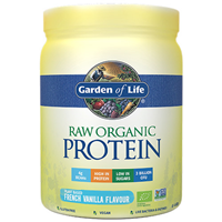 Garden of Life Raw Organic Protein - French Vanilla - 468g