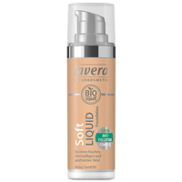 lavera Soft Liquid Foundation - Honey Sand 03 - 30ml