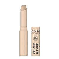 lavera Cover & Care Stick in Ivory 01 - 1.7g