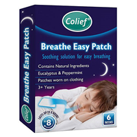 Colief Breathe Easy Patch - 6 Pack