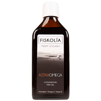 FISKOLIA Astaxomega Astaxanthin Fish Oil - 250ml