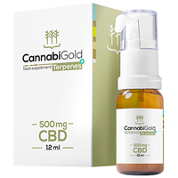 CannabiGold Terpenes+ 500mg CBD Oil - 12ml