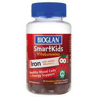Bioglan SmartKids Iron with Vitamin C - 30 Strawberry Gummies