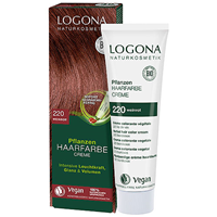 LOGONA Herbal Hair Colour Cream - 220 Wine Red - 150ml