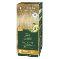 LOGONA Herbal Hair Colour Powder - 010 Golden Blonde - 100g