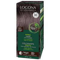 LOGONA Herbal Hair Colour Powder - 101 Intense Black - 100g
