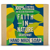 Faith in Nature Grapefruit Bar Soap - 100g