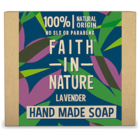 Faith in Nature Lavender Bar Soap - 100g