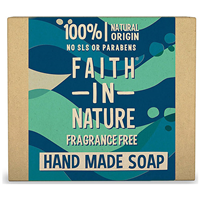 Faith in Nature Fragrance-Free Bar Soap - 100g