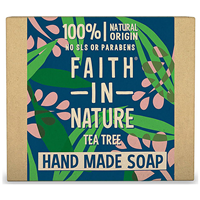 Faith in Nature Tea Tree Bar Soap - 100g