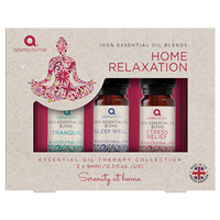 Aroma Home Essential Oil Collection - Home Relaxation - 3 x 9ml