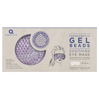 Aroma Home Therapeutic Lavender Soothing Gel Beads Eye Mask