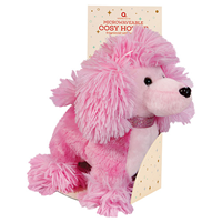Aroma Home Microwaveable Cosy Hottie - Pink Poodle