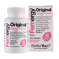 BetterYou Femergy - For Women - 60 Vegicaps