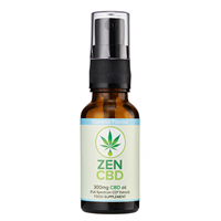 ZenCBD 300mg Coconut Flavour - 20ml