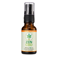 ZenCBD 300mg Orange Flavour - 20ml