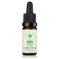 ZenCBD Oil 5% (500mg) - 10ml