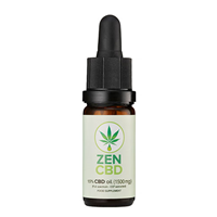 ZenCBD Oil 15% (1500mg) - 10ml - Best before date is 29th February 2020