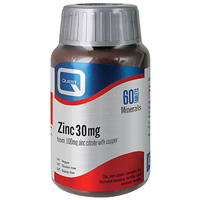 Quest Zinc - 60 x 30mg Tablets