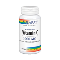 Solaray Vitamin C Timed-Release - 60 x 1000mg Capsules
