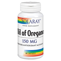 Solaray Oil of Oregano - 60 x 150mg Softgels